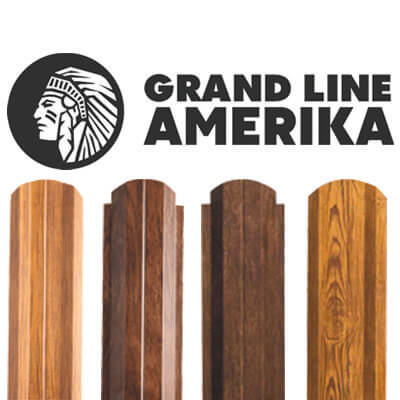 Металический Штакетник Grand Line