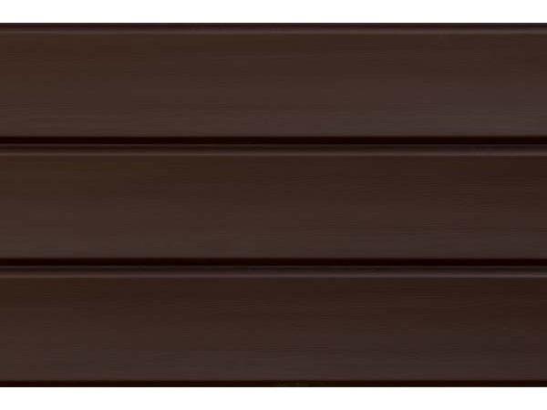 Виниловый сайдинг Natural-Брус - Темный Дуб (акриловый)